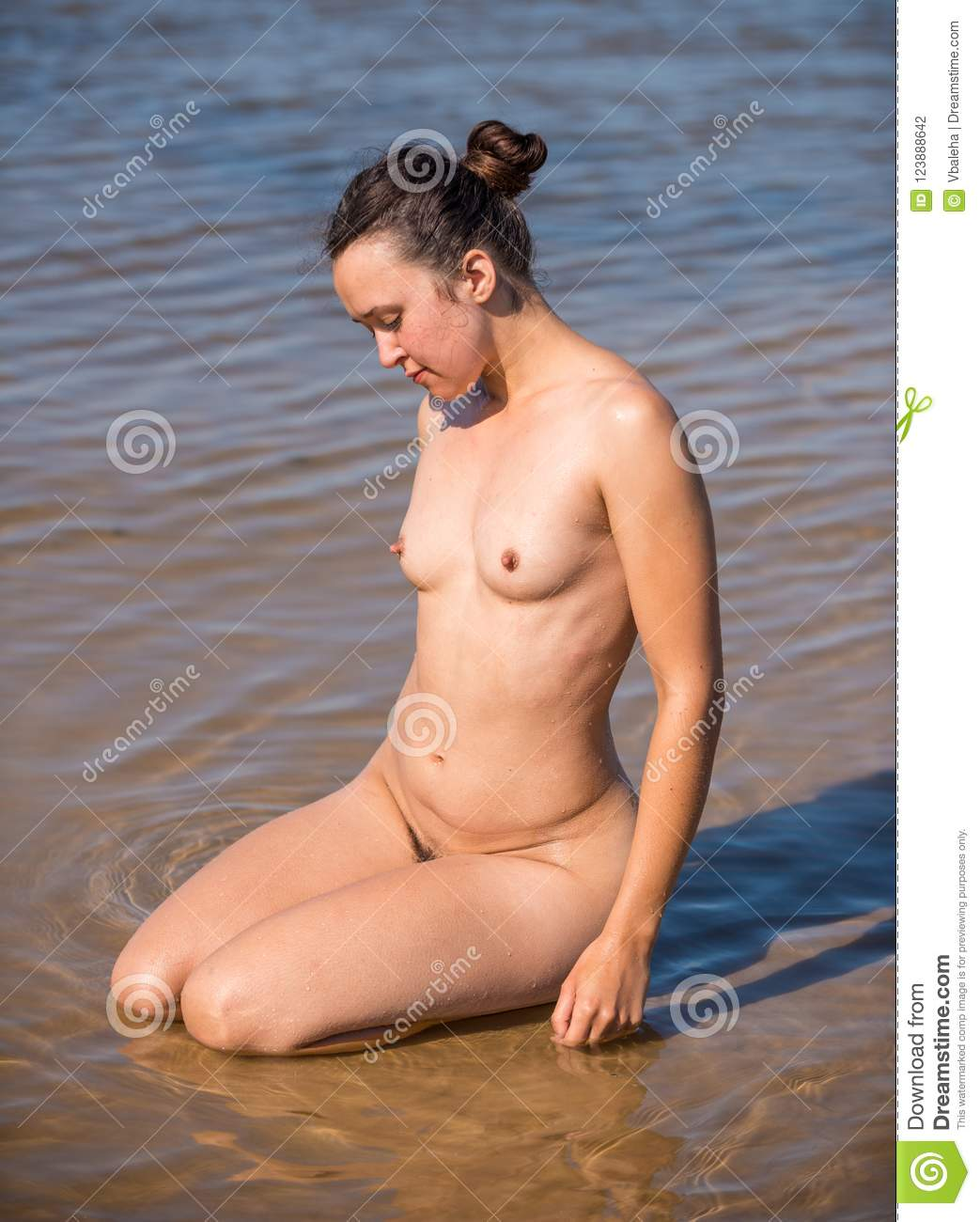Naked young females