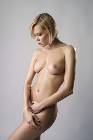 Nude pic blonde