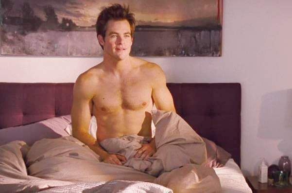 Nude images of chris pine
