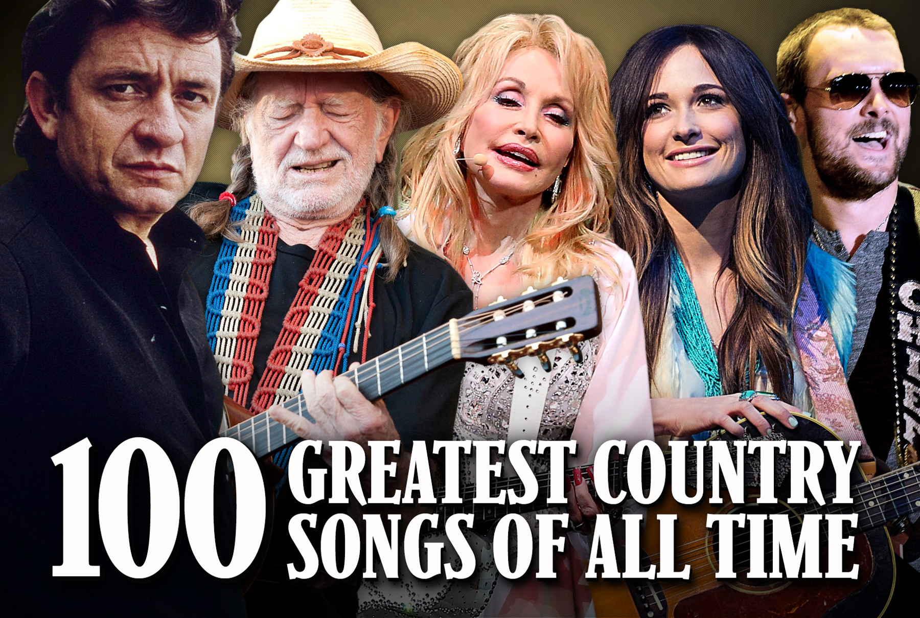 100 most popular country songs of all time