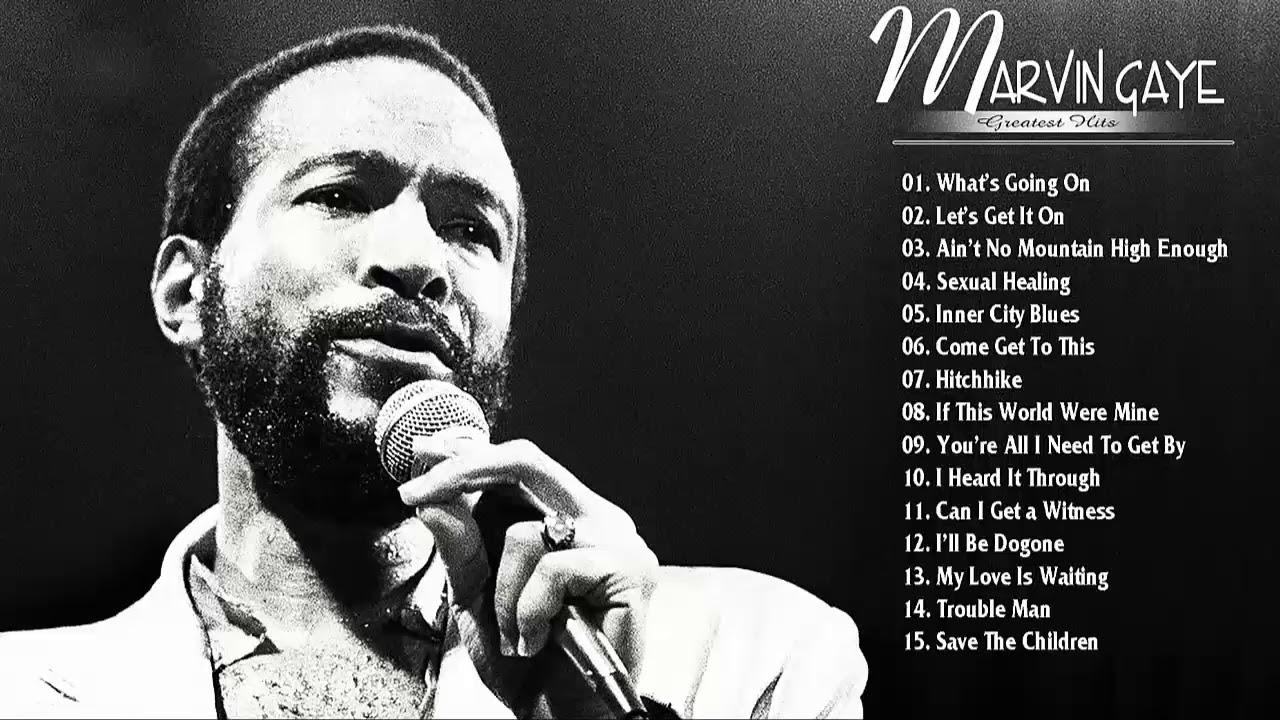 Marvin gayes most popular songs