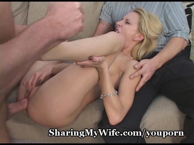 Wife gets stretched